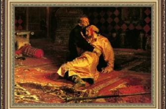 Картина Ильи Репина: убийство, которого не было