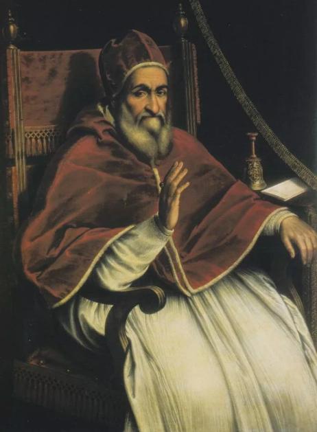 Папа Сикст V.
