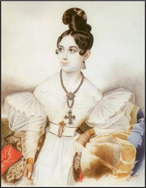 Графиня Анна Михайловна Виельгорская
