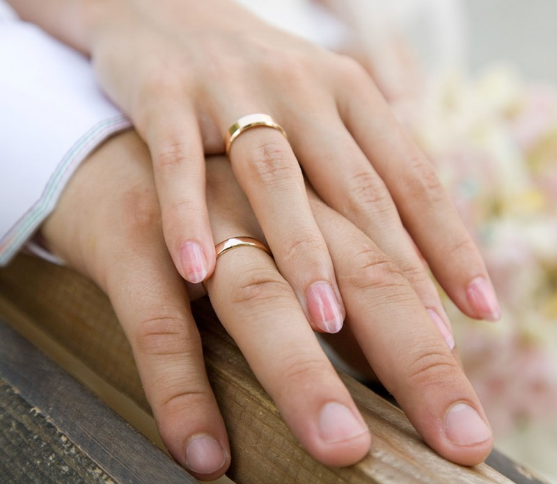 некоторая картинки с обручальными кольцами на руках подруги
