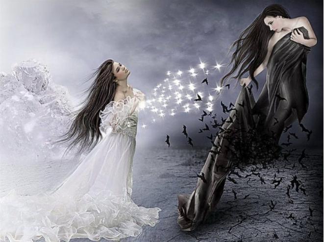 черная и белая магия