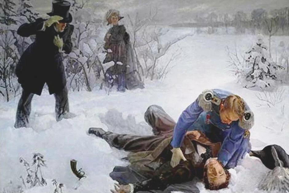 Дуэль А. С. Пушкина и Ж. Дантеса