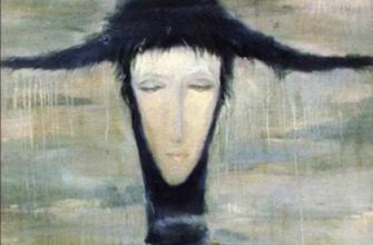 Мистическая картина «Женщина дождя» Светланы Телец