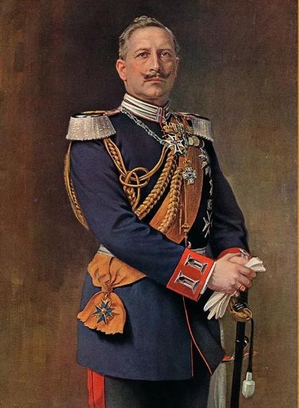 Кайзер Вильгельм II в 1918 г.
