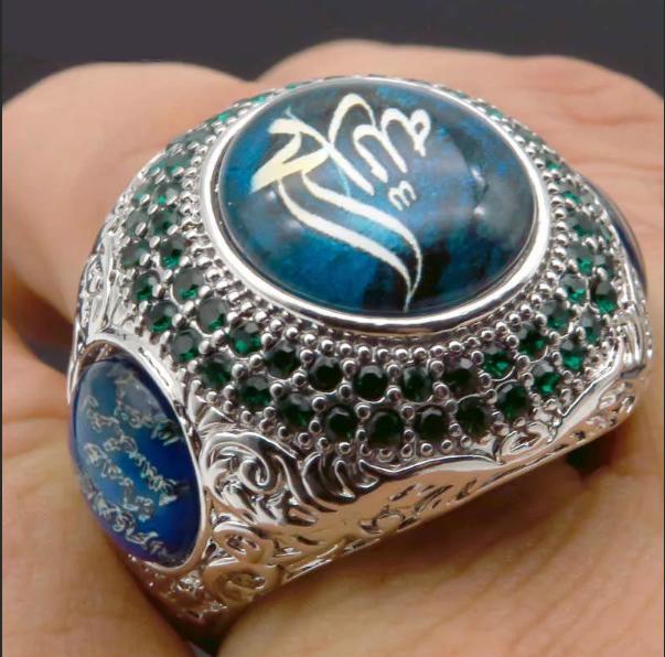 мужской перстень арабский