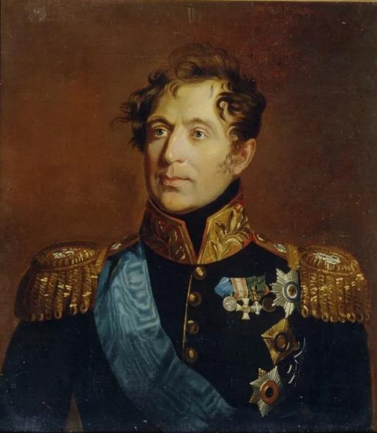 Граф генерал М. А. Милорадович
