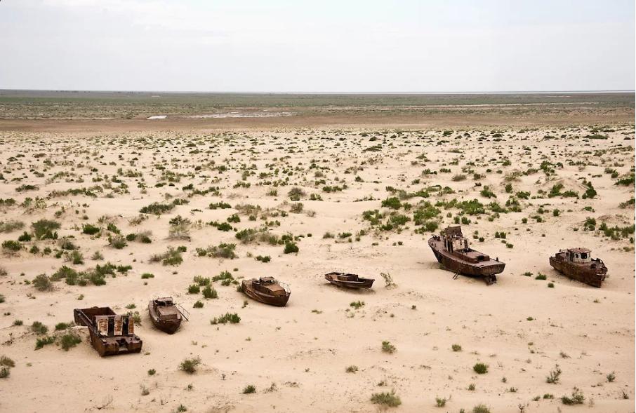 Аральское море высохло
