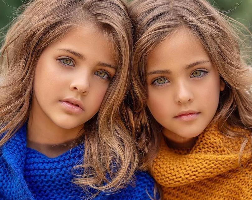девочки близнецы близняшки