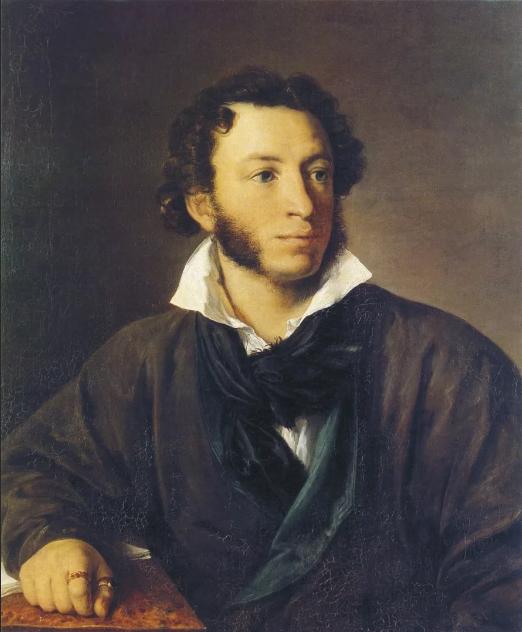 Тропинин портрет А. С. Пушкина