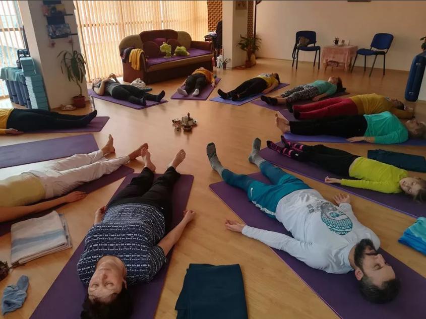 медитация в группе