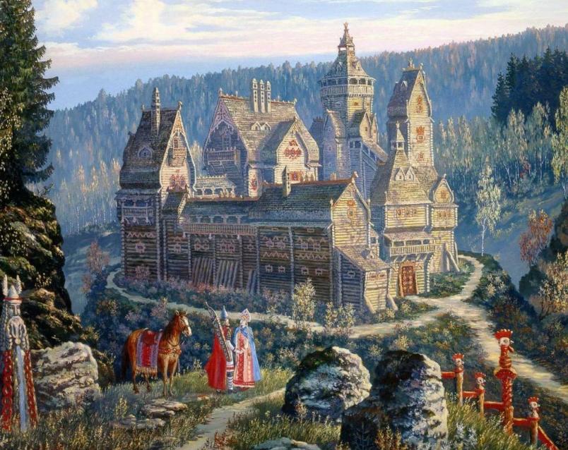 картина града Китежа