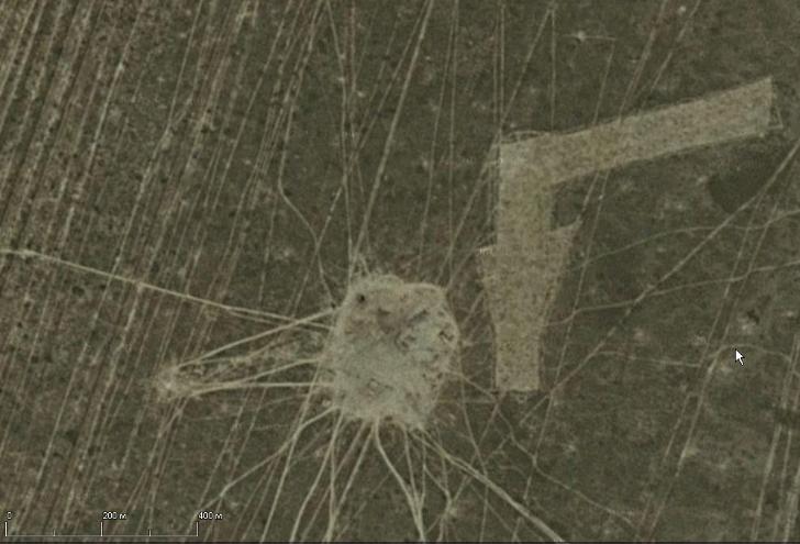 геоглифы рисунки на дне аральского моря