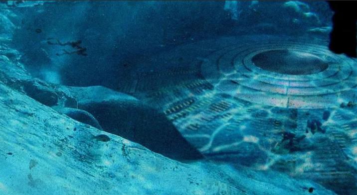подводная база инопланетян