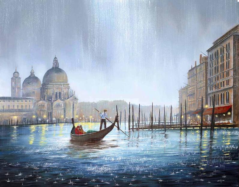 Роуланд картина дождь