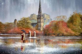 5 «лечебных» картин — признание в любви дождю и любимым