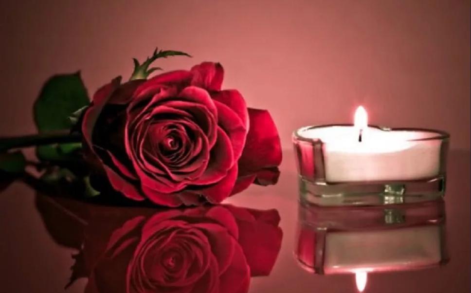 свеча и роза обряд на любовь