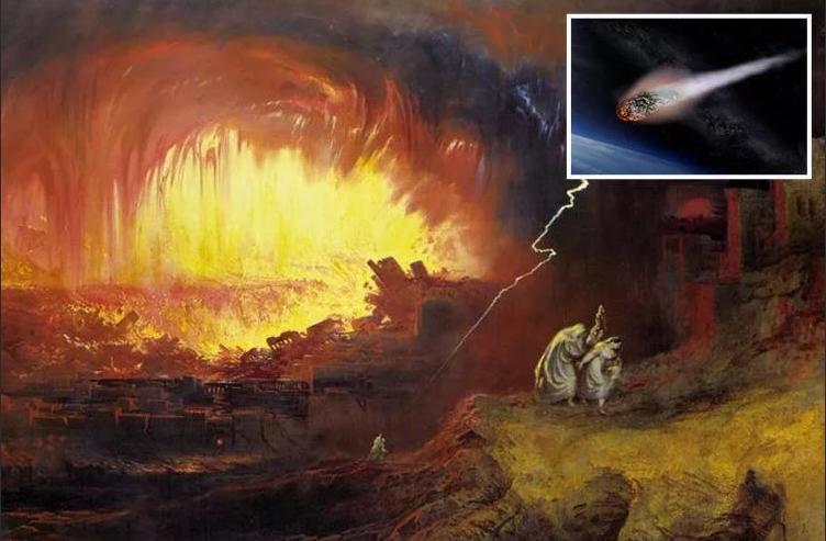 Содом и Гоморра разрушены метеоритом