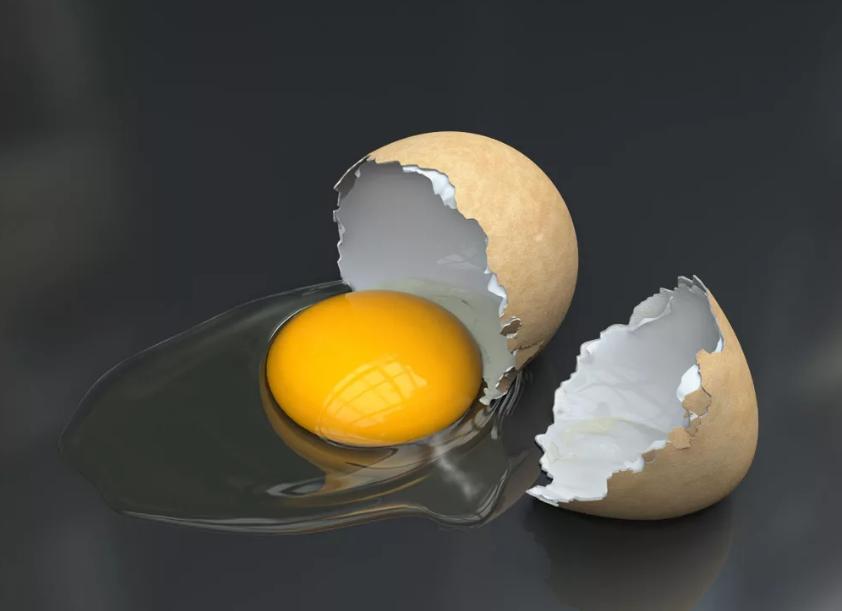 разбилось яйцо