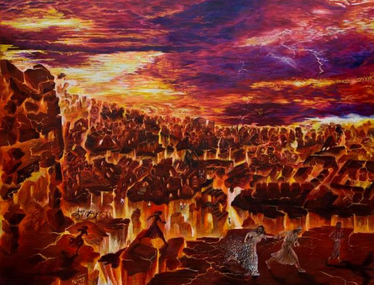Содом и Гоморра землетрясение