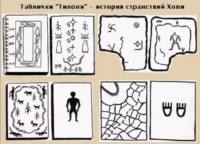 таблички с предсказаниями индейцы хопи