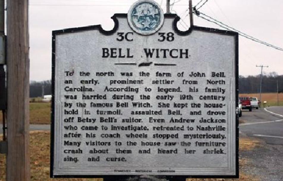 ведьма Беллов США указатель