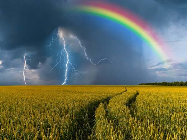 Радуга в небе: примета и её толкование