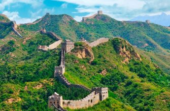 Так выглядит Великая Китайская стена