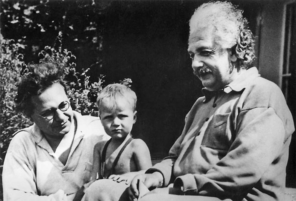 Эйнштейн со второй женой