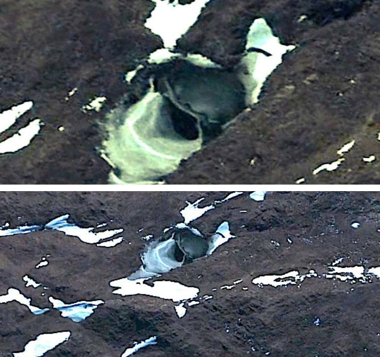 5 необъяснимых объектов в Антарктиде – Новые снимки из космоса