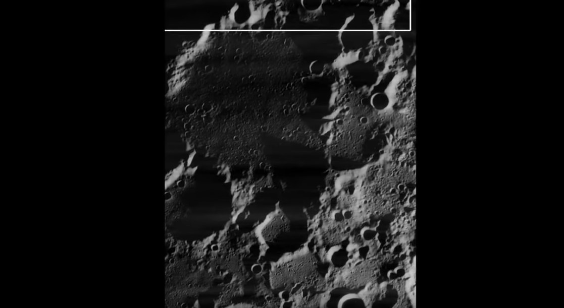 Кратеры на Луне