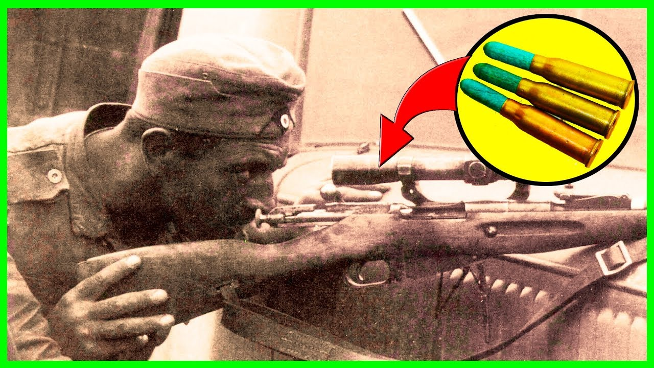 Деревянные пули в винтовке